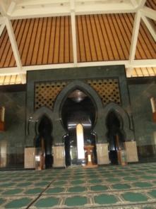 Tempat Imam Masjid Al-Azhar