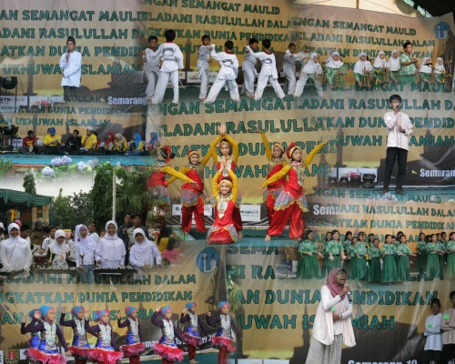 Performance Art - Murid Al Azhar 14