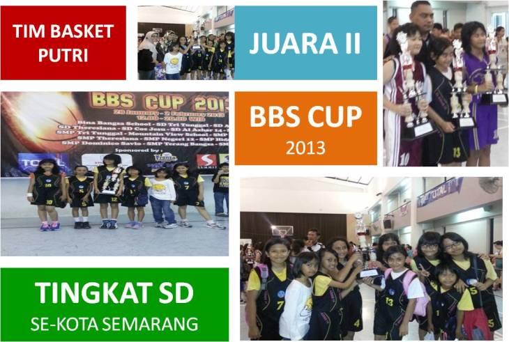 TIMMBASKET PUTRI JUARA 2 BBS CUP 2013