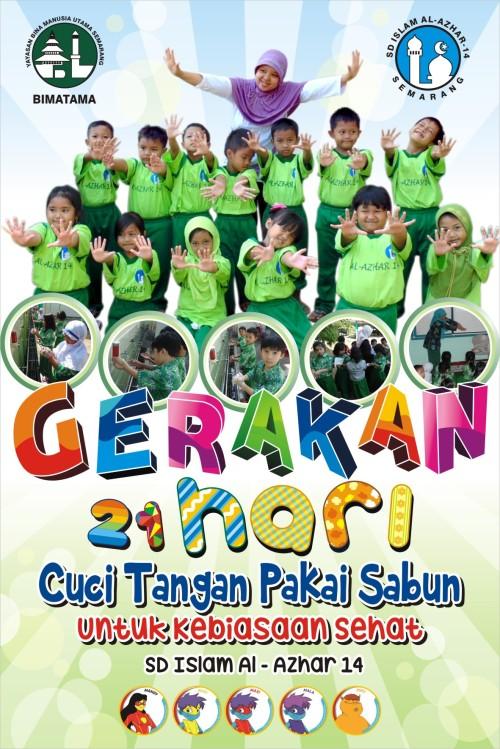 MMT Gerakan Cuci Tangan pakai sabun 2014