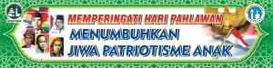 MMT Hari Pahlawan  ( 1,5 x 6 m )